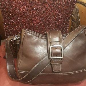 Vintage Coach Brown Bag